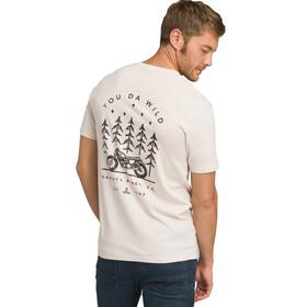 Prana Hollis Pocket Shortsleeve T-Shirt Herr weathered beige heather